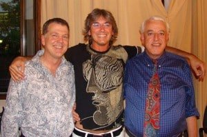 Steve Wells, Andrea Fredi, Dr David Lake