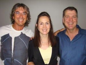 Andrea Fredi, Carol Look and Steve Wells Brussels September 2011