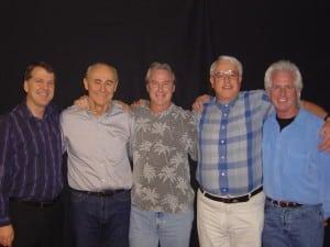 Steve Wells, Gary Craig, Andy Bryce, Dr. David Lake, and Paul Cutright in San Francisco November 2005