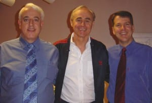 Dr David Lake, Gary Craig and Steve Wells, San Francisco 2003