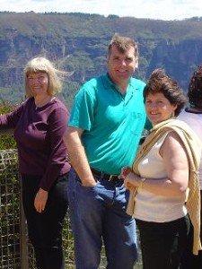 Blue Mountains Retreat Gary, Jenny, Colleen