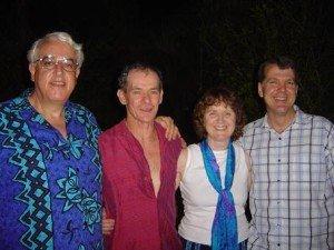 Broome PET Retreat David, Ked, Shanti, Steve